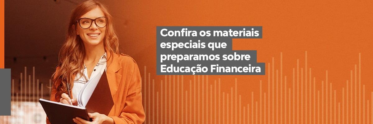 Banner Educação Financeira
